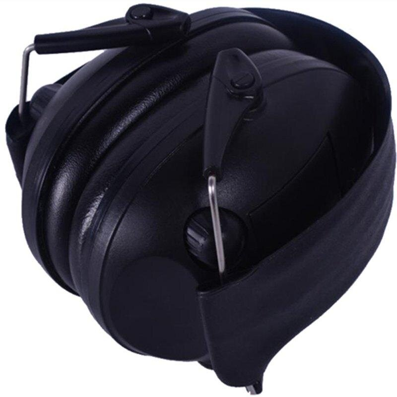 Buy New Professional Black Electronic Hearing Protection Ear Muffs:TB11-004 Black Malaysia