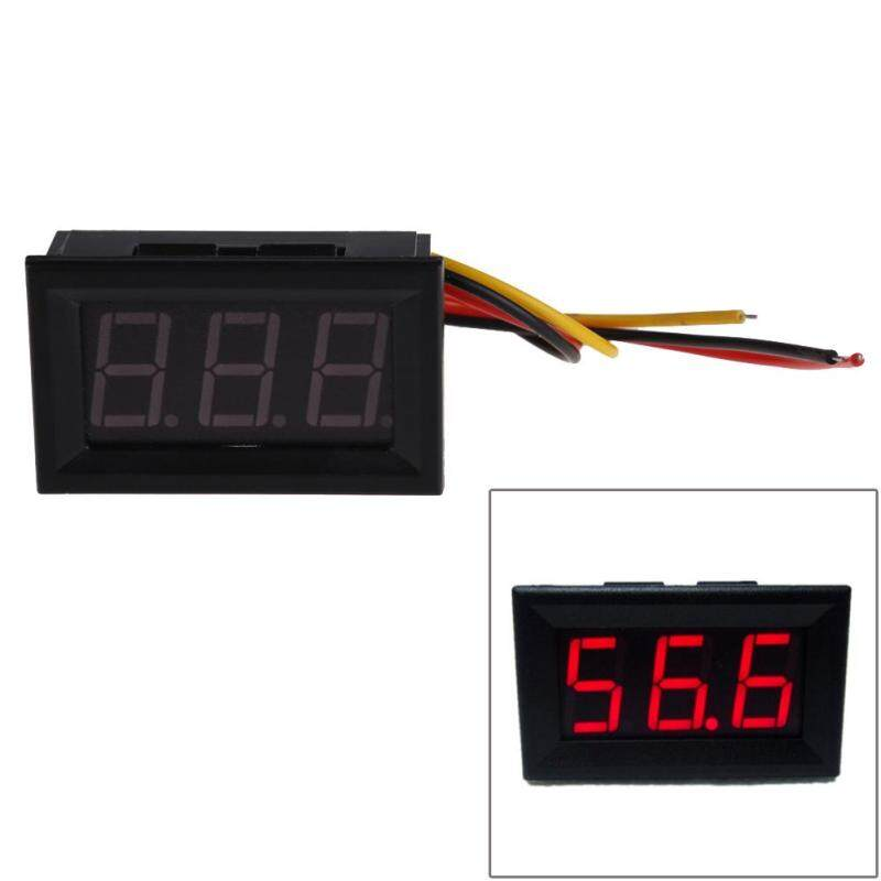 Buy NEW Red Panel Meter Mini Digital Voltmeter DC 0 to 99.9V - Intl Malaysia