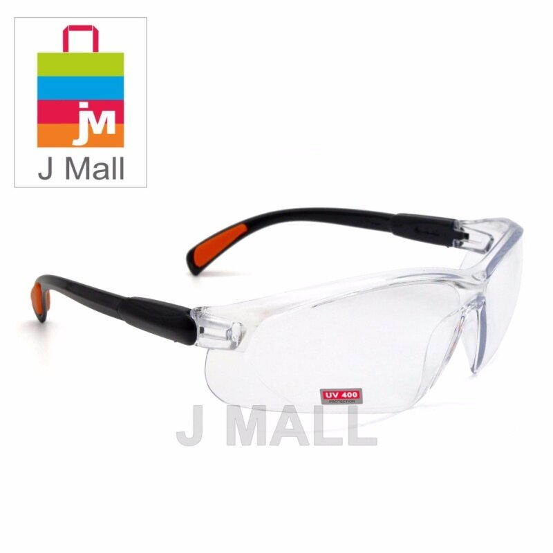 Buy New Safety Eye Protection PPE Glasses Goggle Spec (208-1) Clear Malaysia