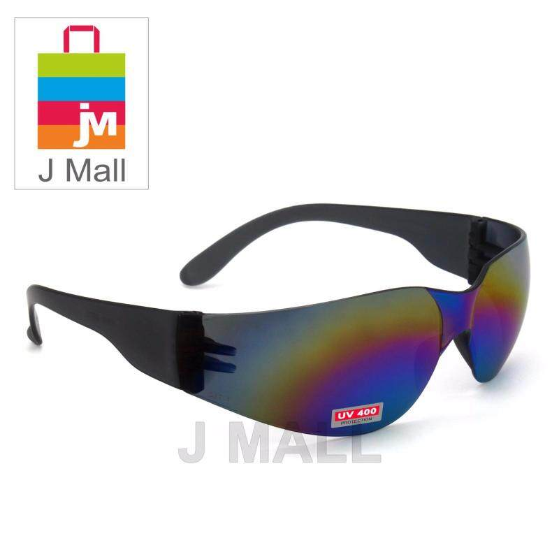New Safety Eye Protection PPE Glasses Goggle Spec (817-4) Rainbow