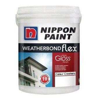 Buy nippon paint exterior 15l weatherbond flex monza 715 - Nippon paint exterior collection ...