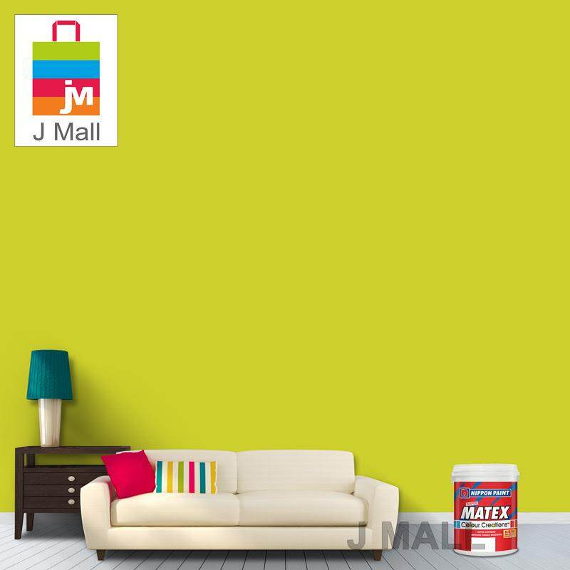 Buy Nippon Paint Interior Super Matex Acid Lime NP BGG 1687 A - 1L ...