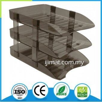 NISO Document Tray 3 Tiers / In Out Tray 3 Layers / Plastic Tray 3 Layer / A4 Tray 3 Tier