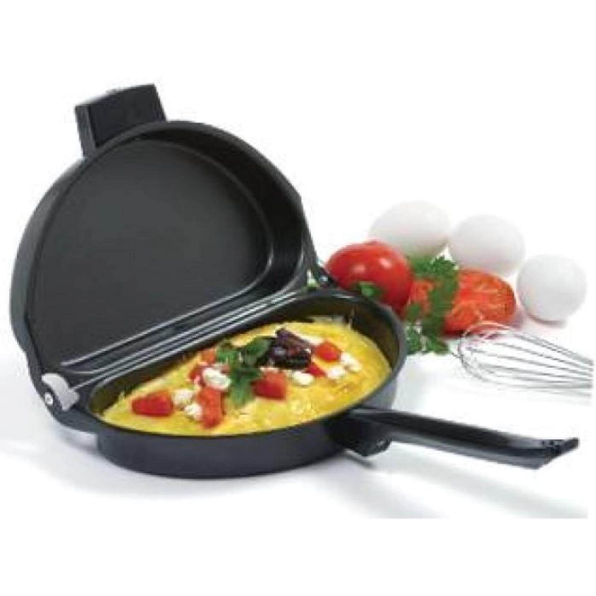 Non-Stick Double Sided Folding Omelette Egg Making Pan