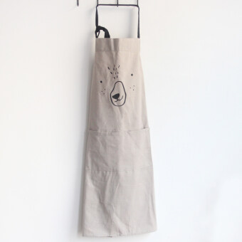 Nordic wind cotton oil resistant cleaning apron cloth apron