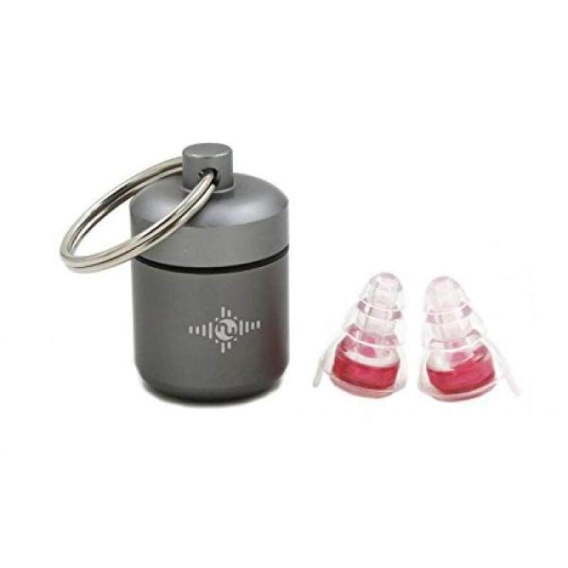 NU High Fidelity Ear Plugs for Musicians, Concerts, Motorcycles, Travel, Holiday and Live Events with Portable Aluminum Case (High Protection)