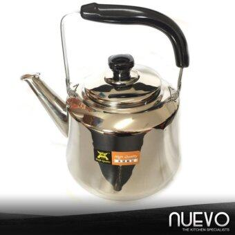 Harga Nuevo 4L Stainless Steel Whistling Kettle Without Net Leak