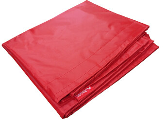 Harga Nylon Beanbag Cover (Red)