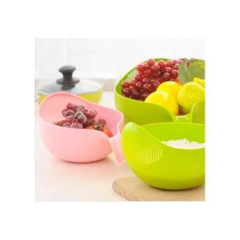 OHSEM Plastic Vegetable Strainer / Food Strainer Basket / Fruit Strainer