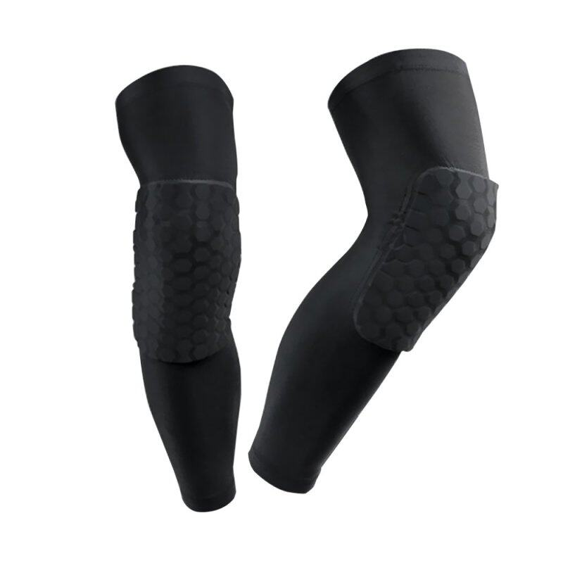 Buy One Pair Adult Extra Long Basketball Lycra Compression Knee Pads Running Cycling Knee Warmer Knee Stabilizers for Knee Joint Pain Relief Arthritic Knees Extral Large Black Malaysia