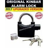 ORIGINAL KINBAR SIREN ALARM PADLOCK for DOOR/Motor/Bike LOCK(short)