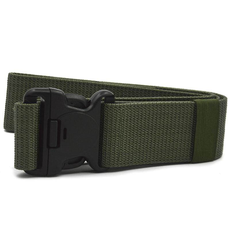 Buy Outdoor Nylon Webbing Load Bearing Waist Belt Web Belt with Buckle Hooks and Loops Fastener Army Green Malaysia