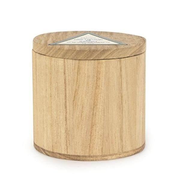 Paddywax Koleksi Woods Scented Kedelai Wax Lilin Di Kayu Mangga, 5-Ons, Kayu Apung & Indigo-Internasional
