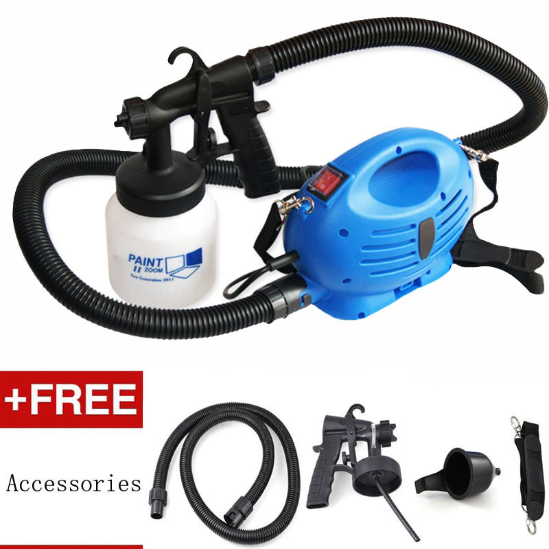 Harga Paint Zoom Sprayer Pro Spray Guns with 3 Way Sp(Blue)