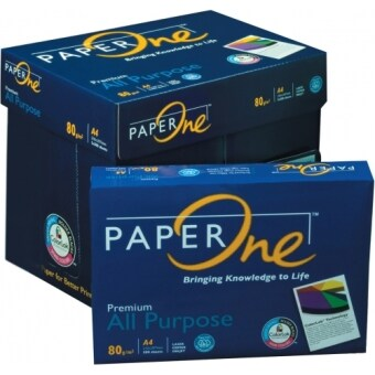 Harga Paper One Premium All Purpose Paper A4 80g/M2 500 Sheets X 5 REAMS
