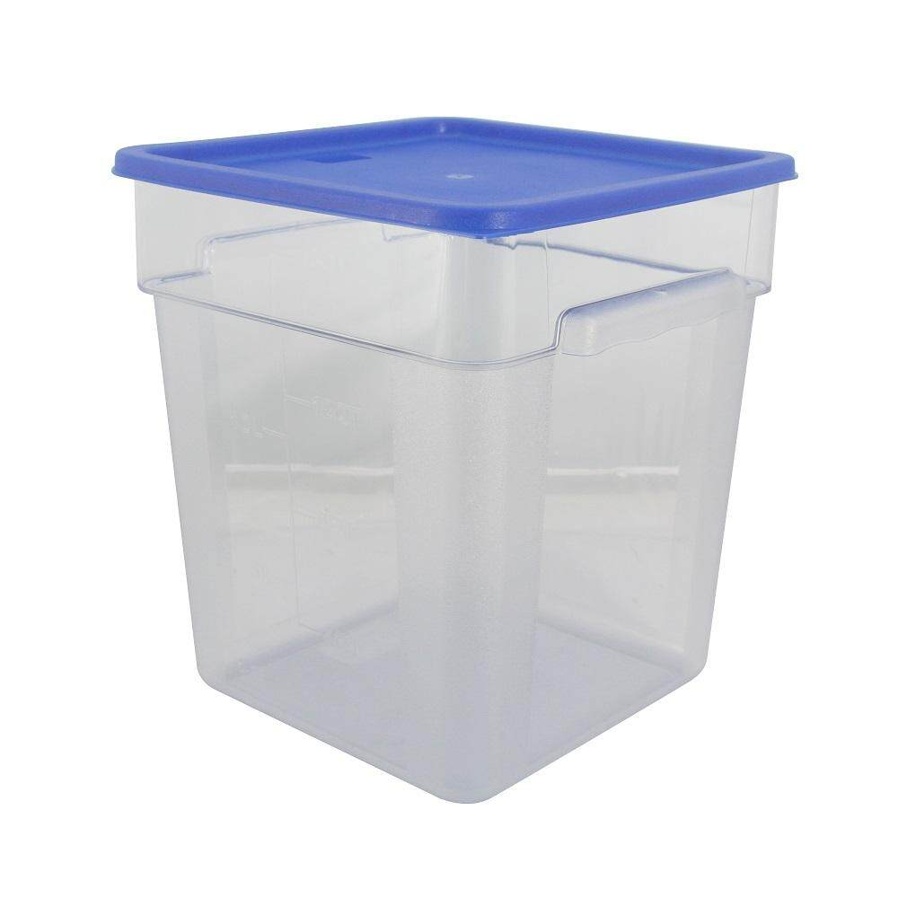PC Square Food Container With Cover - 18 Litre