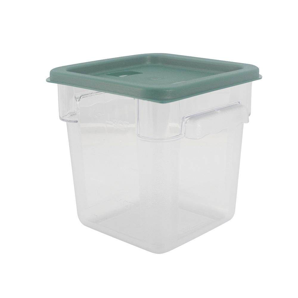 PC Square Food Container With Cover - 4 Litre