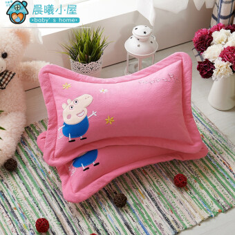 Pei anti-migraine head buckwheat hull pillow infants and children pillow