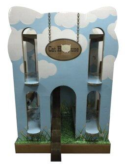 Pets Dreamland Cat House -CH