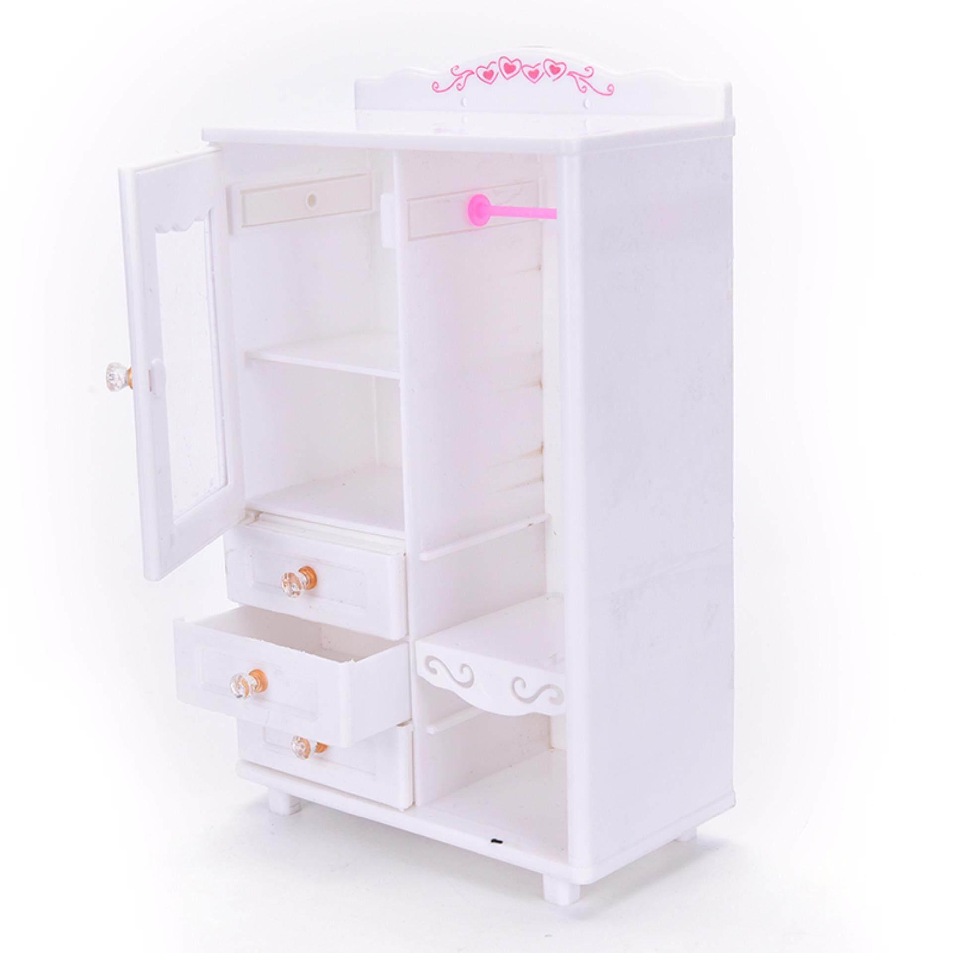 Fitur Plastik Mebel Ruang Tamu Lemari Pakaian Untuk Barbie Aksesoris Katalog Berbie Baju Detail Gambar Rumah Boneka Mainan Internasional Terkini