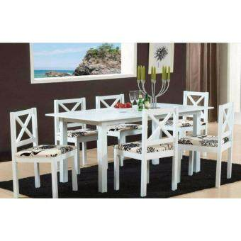 PLZ 1064 1+6 SOLID WOOD DINING