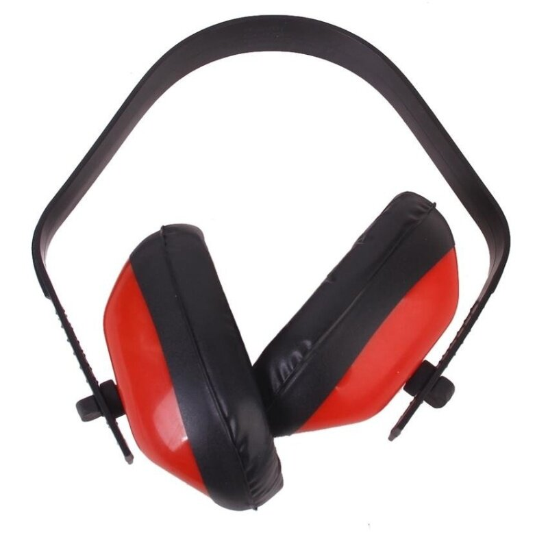 Buy PM_Store Red Foam Hearing Noise Reduction Ear Muff Malaysia