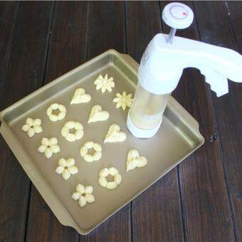 Portable Biscuit Machine Cookies Mould Cookie Cutters Maker KitchenTools Set - 3