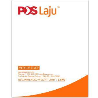 POSLAJU BAG FLYER WITH SLIP POCKET SIZE M 10PCS
