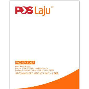 POSLAJU BAG FLYER WITH SLIP POCKET SIZE M 50PCS