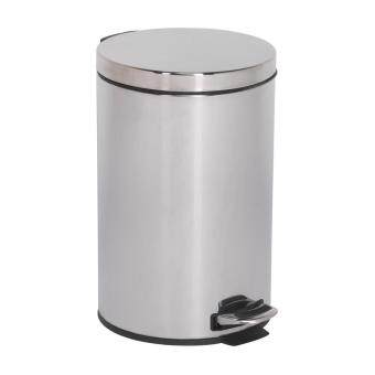(Pre-order) Sealey Pedal Bin 12ltr Stainless Steel Model: BM70