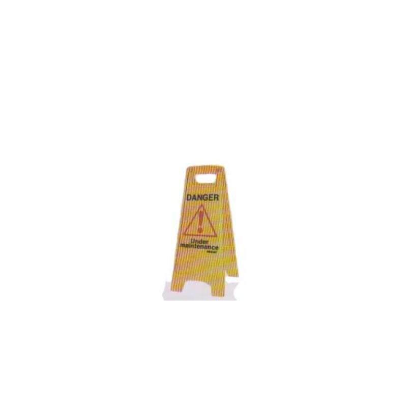 (PRE ORDER) SFS-1609 SAFETY FLOOR SIGNS DANGER UNDER (21 DAYS)