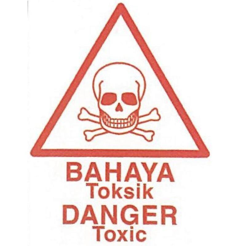 (PRE ORDER) US-2401 BAHAYA TOKSIK / DANGER TOXIC (21 DAYS)