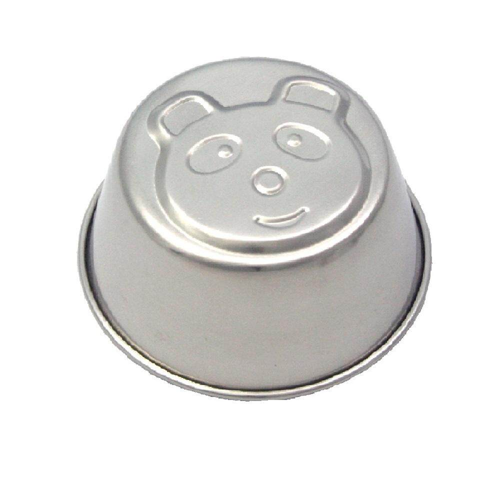 Pudding & Jelly Cup Stainless Steel (6 Design) - Bear