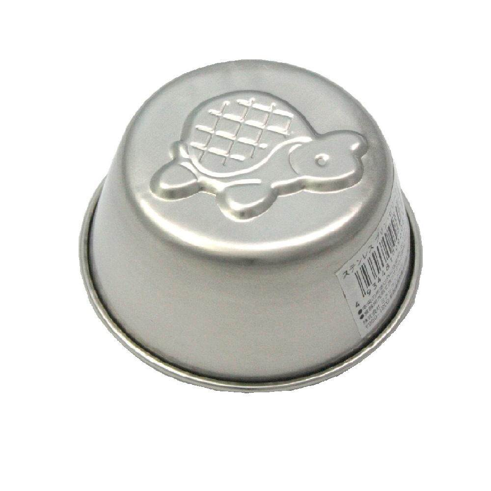 Pudding & Jelly Cup Stainless Steel (6 Design) - Turtle