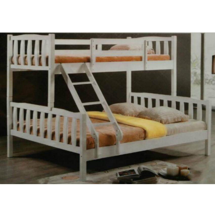 Bunk beds double over queen bunk beds for sale in san for Double decker crib