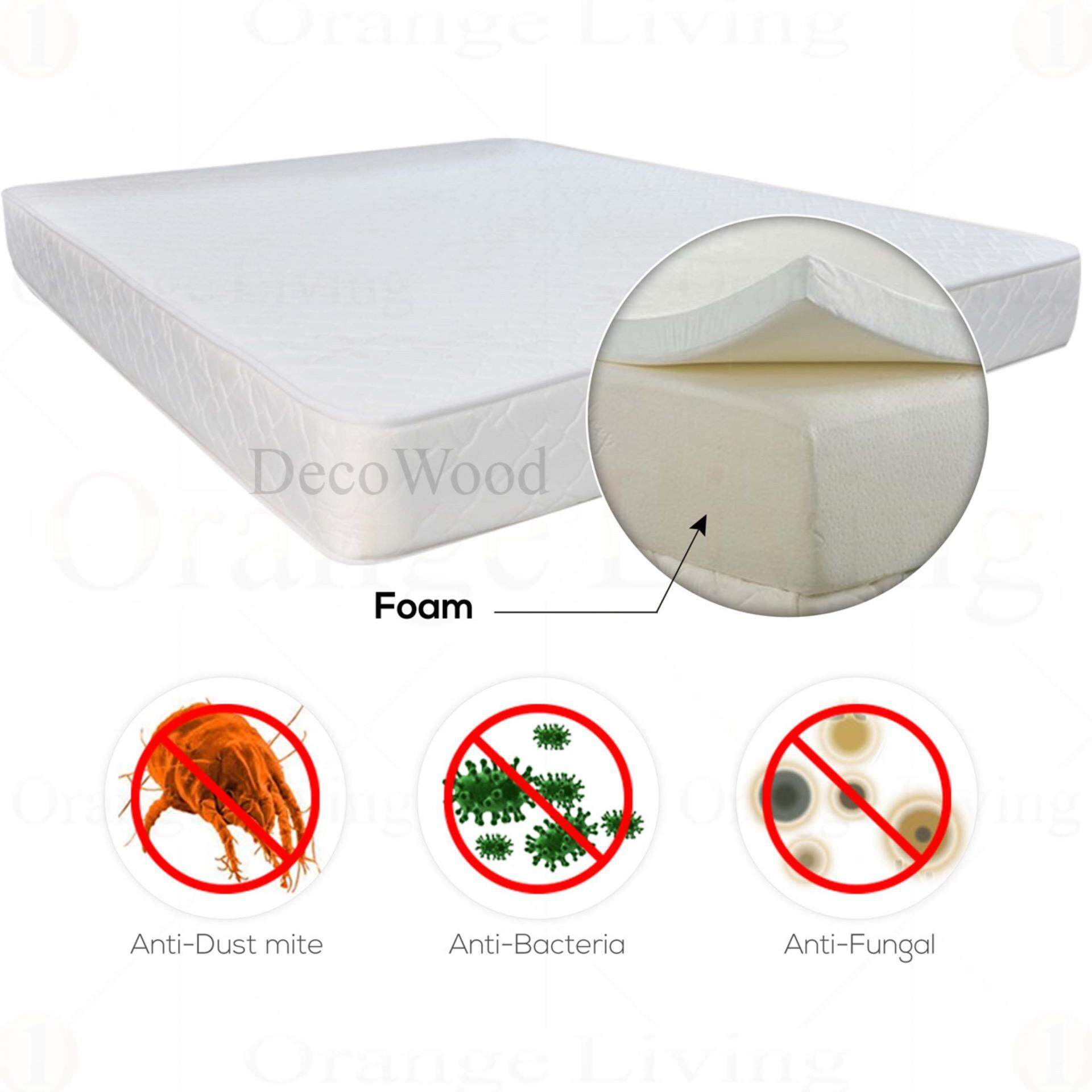 Queen Size Rebond Foam Mattress 3 Inch 77MM Thick/Queen Mattress/Tilam Queen/Queen Tilam