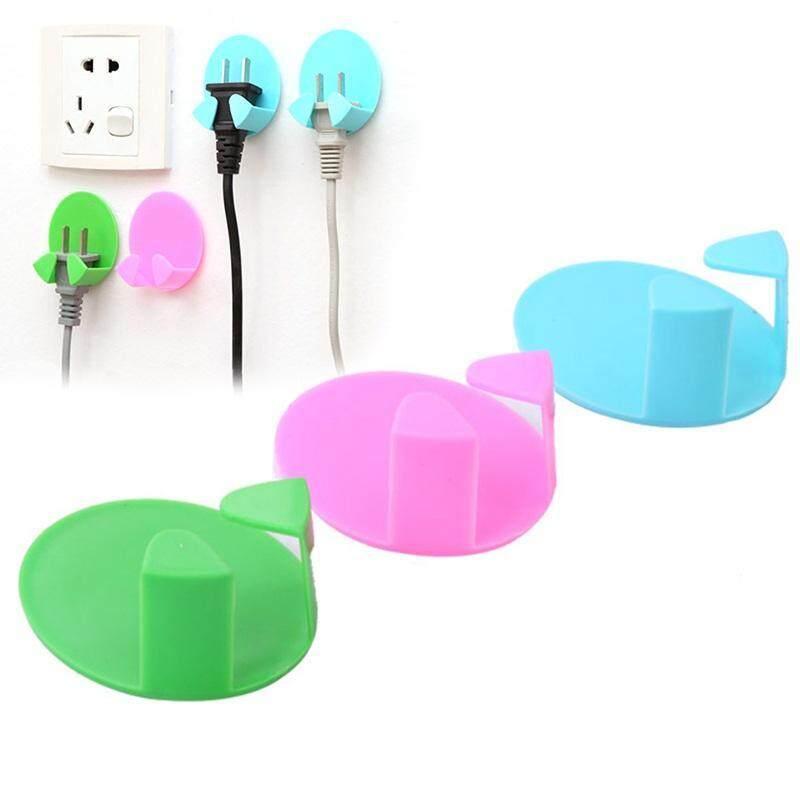 Buy Random Power Plug Socket Hook Rack Holder Home Wall Decor Organizer Hooks 2 Pcs Malaysia
