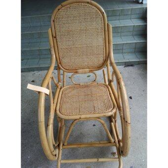 rattan solid rocking chairbig size j1yellow original