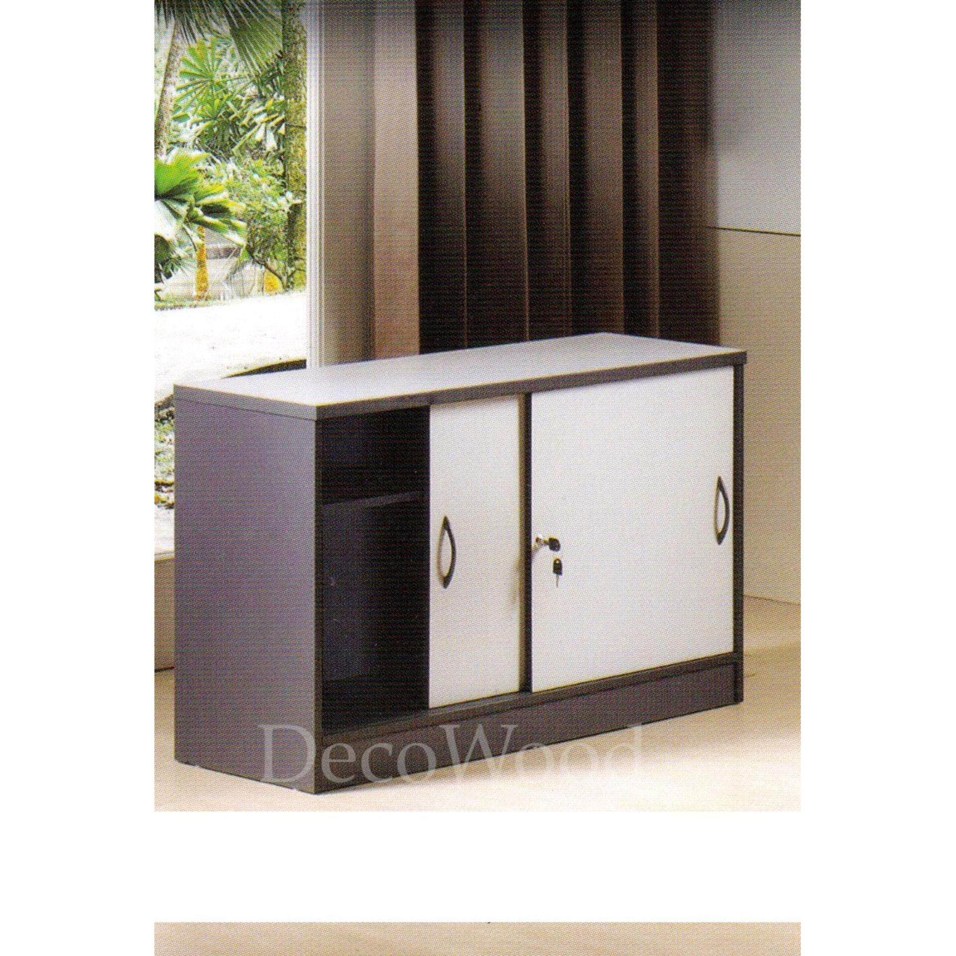 Sliding Door Solid Book Cabinet With Lock /Book Case/Document Cabinet/File Cabinet/Filing Cabinet/Bill Cabinet/Invoice Cabinet (Light Grey Colour) L800MM X W400MM X H815MM