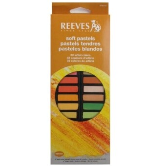 Harga Reeves 32 Colors Half Soft Pastels Set-8790275
