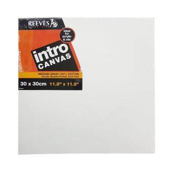 Harga Reeves Intro Artist Stretch Canvas (30 X 30cm)
