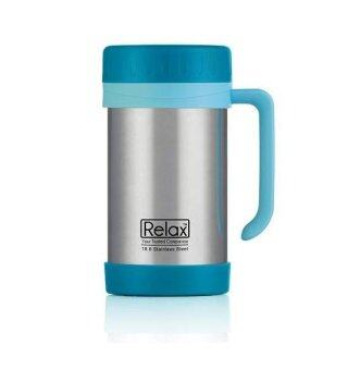 Relax D1144 Stainless Steel Thermal Mug 500ml (Blue)