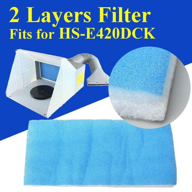 """Buy Replacement Booth Filter for Airbrush Spray Paint HS-E420DCK 2 Layers 16x7x1"""" Malaysia"""