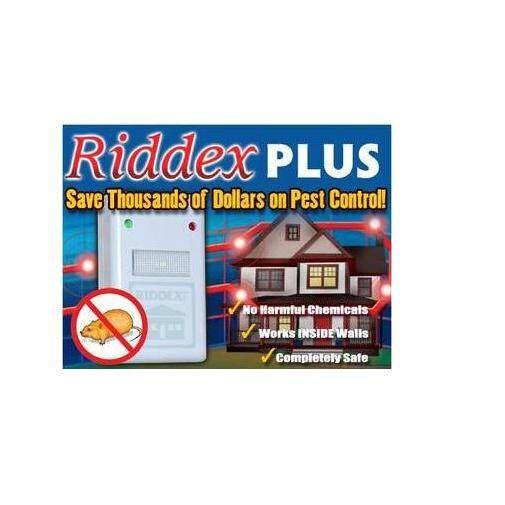 Riddex Plus Digital Pest Repeller With Electromagnetic Technology