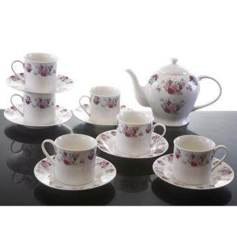 Harga Rose Delight 13 pc Porcelain Tea Set