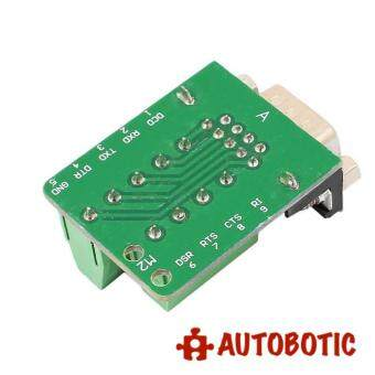 RS232 to Terminal DB9 Male Adapter Connector Signal Terminal Module - 3