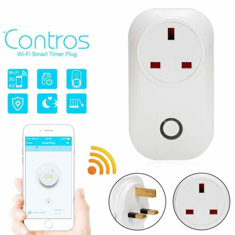 Buy S20 WiFi Wireless Phone Wireless APP iOS Android Remote Control Time Socket Plug Malaysia