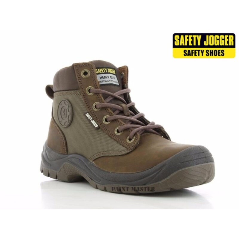 Buy SAFETY JOGGER SAFETY SHOES DAKAR BROWN MIDDLE CUT (SIZE43 UK9) Malaysia