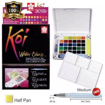 Harga Sakura Koi Water Color With Brush 30 colour -XNCW30N