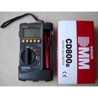 Harga SANWA DIGITAL MULTIMETER CD800A (JAPAN)